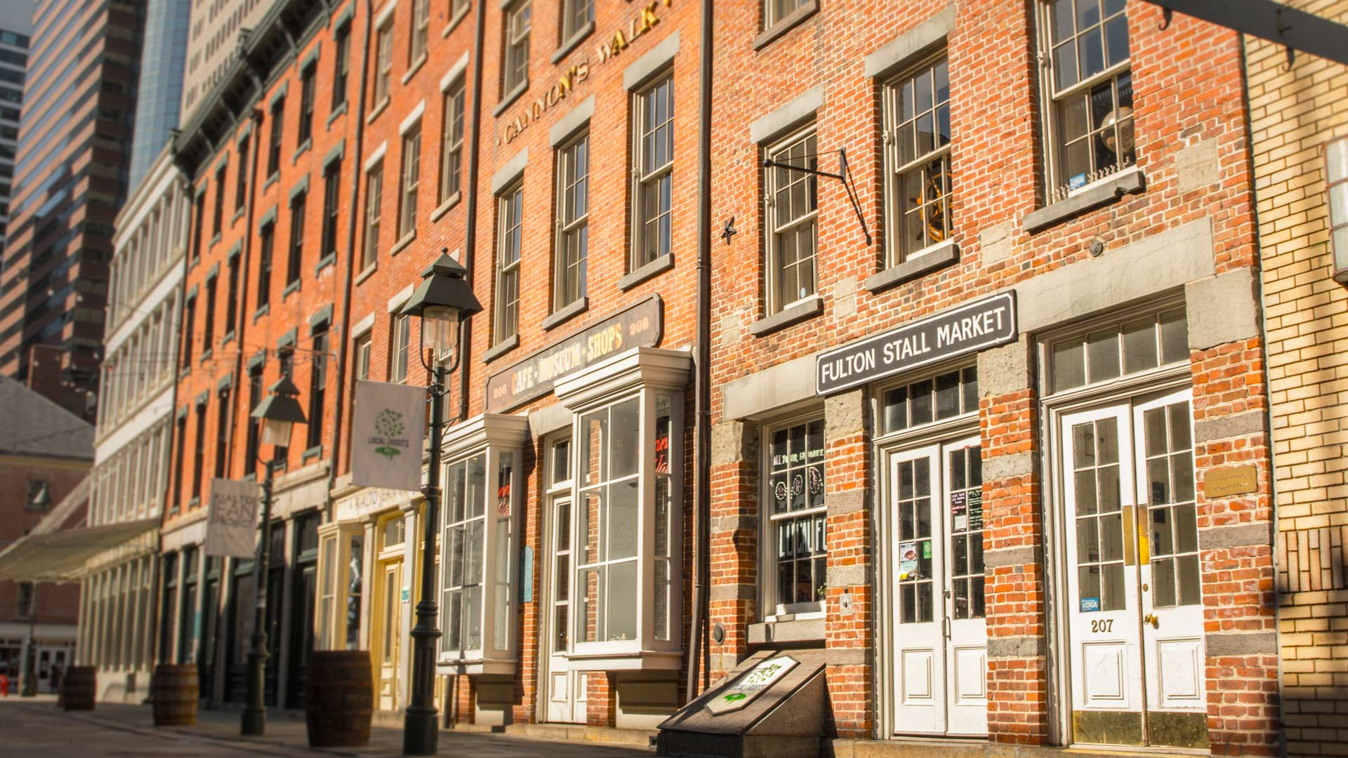 Our home at 207 Front St in Manhattan's historic Seaport District